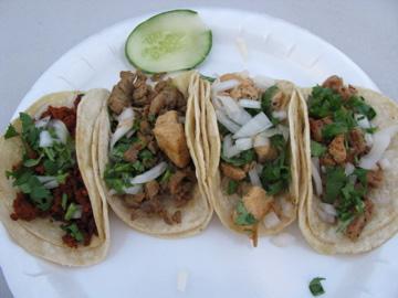 Juniors taco plate