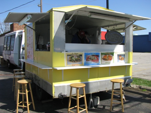 sullivant avenue columbus, west side taco trucks