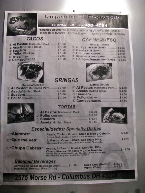 gringas, tacos