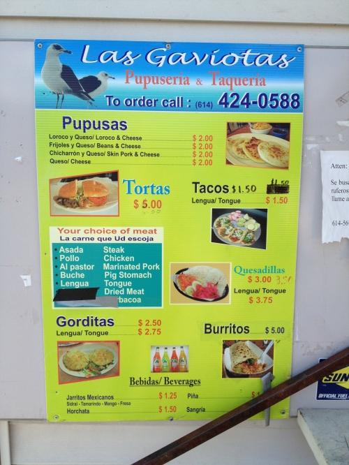 honduran food truck columbus