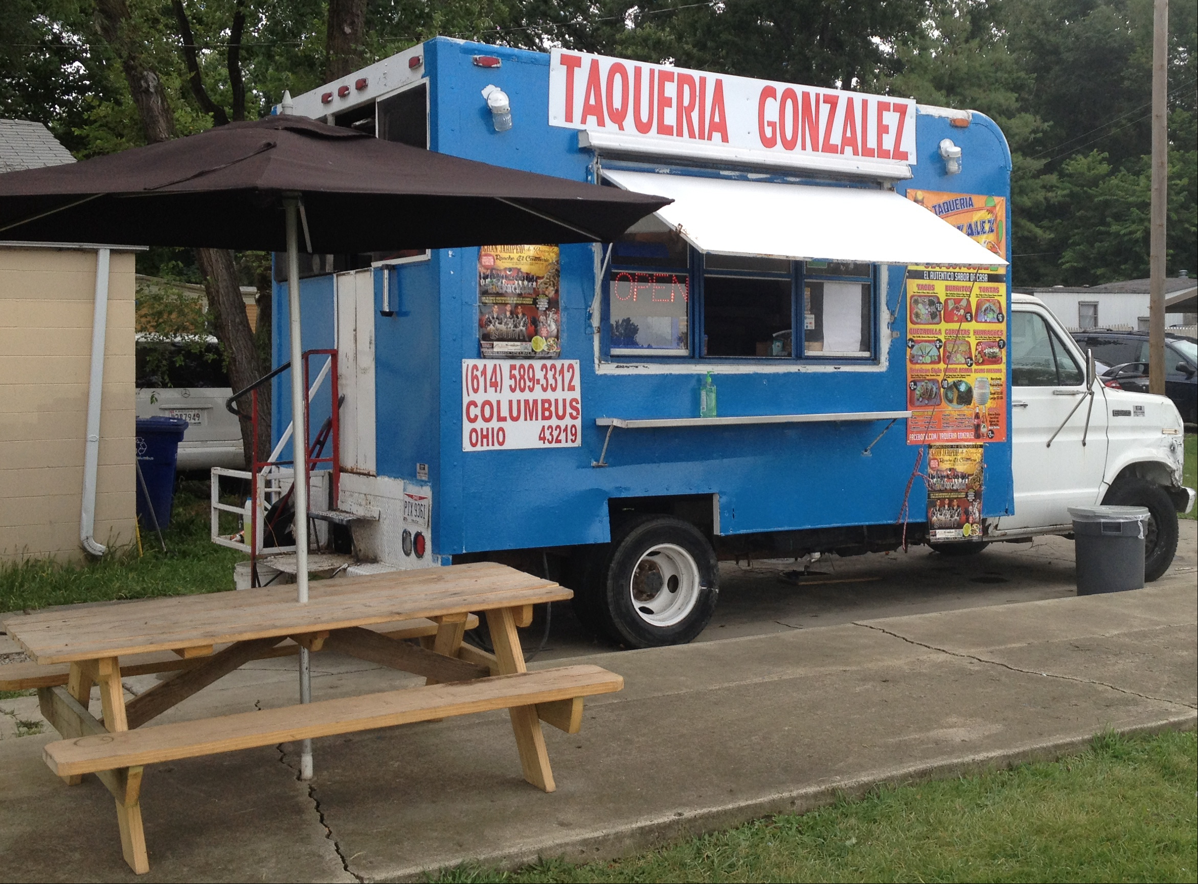 Columbus OH 43219 Phone 614 589 3312 Facebook Taqueria Gonzalez Monday To Saturday 11 Am 10 Pm Sunday 3